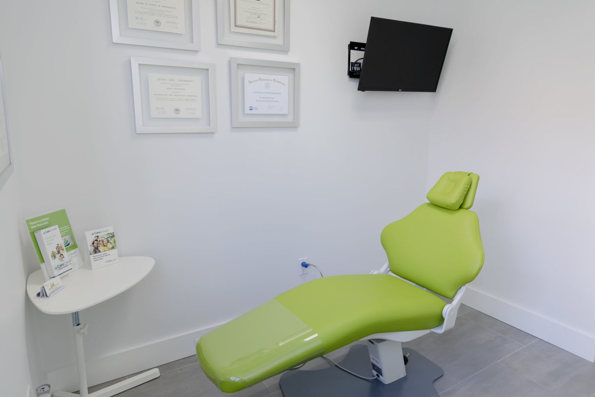 Wise Braces new office tour: New Dental chairs